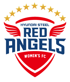 HYUNDAI STEEL RED ANGELS WOMEN'S FC 로고
